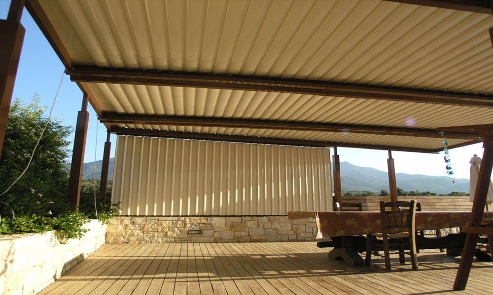 Glazetech GE shading system  double aluminum layer for insulation