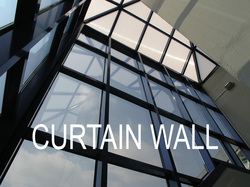 Glazetech curtain wall system without silicone adhesive 10 years guarantee