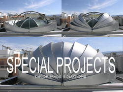 Glazetech Special projects of aluminum tailor made solutions