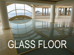 Glazetech glass floor system without silicone adhesive 10 years guarantee